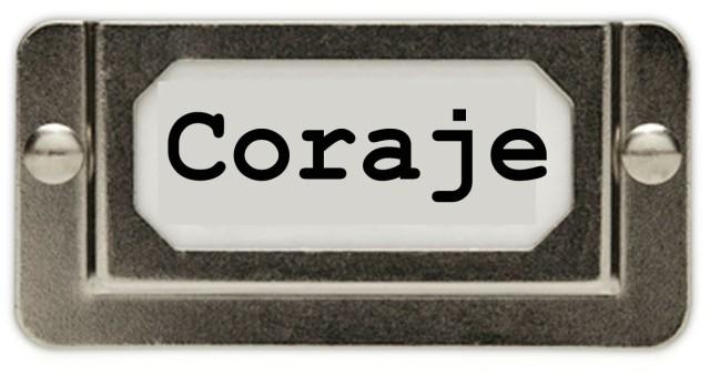 coraje - una palabra para 2013