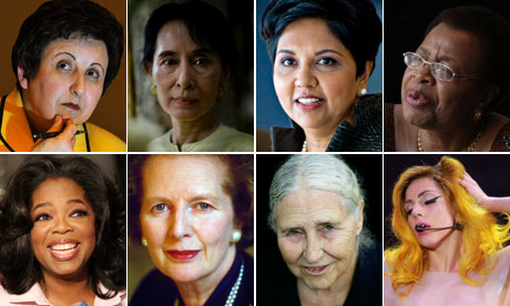 http://www.guardian.co.uk/world/series/top-100-women